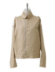 【正規取扱店】beautiful people 17S/S finx cotton satin french flight jacket beige (ビューティフルピープル)