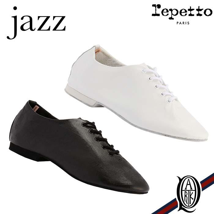 【正規取扱店】repetto JAZZ 2色 メンズ レディース WHITE BLACK (ジャズ レペット)