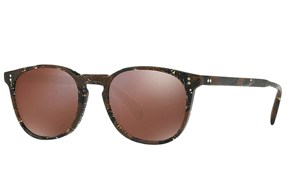【正規取扱店】OLIVER PEOPLES オリバーピープルズ OLIVER PEOPLES POUR ALAIN MIKLI Finley Esq. Sun Palmier Chocolat with Brown