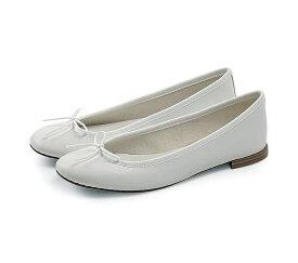 【正規取扱店】repetto Ballerina Cendrillon White (レペット) (サンドリオン レペット)