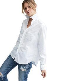 【正規取扱店】Frank&Eileen EILEEN レディースシャツ MOLESKIN WHITE(フランクアンドアイリーン エイリーン)