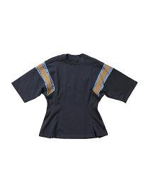 beautiful people ビューティフルピープル 19-20A/W スビンピマジャージ—フットボールTシャツ navy