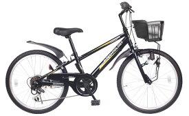 【送料無料】21Technology 21テクノロジー KD226 22インチ 子供用マウンテンバイク ブラック 自転車本体 21テクノロジー【代引不可】