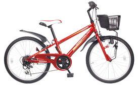 【送料無料】21Technology 21テクノロジー KD226 22インチ 子供用マウンテンバイク レッド 自転車本体 21テクノロジー【代引不可】