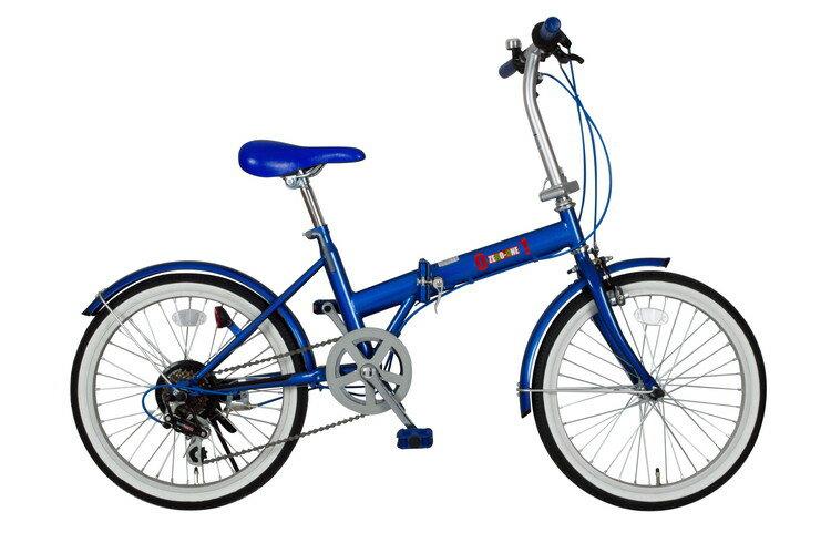 ミムゴ 365 ゼロワン MG-ZRE206-WH ZERO-ONE FDB20 6S 20インチ ホワイト 自転車本体 折りたたみ自転車【代引不可】