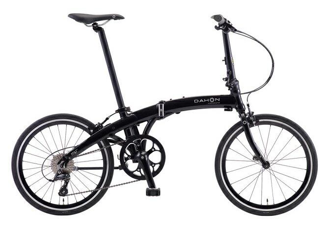 【送料無料】DAHON ダホン Mu SP9 ミュー オブシディアンブラック 20インチ 折りたたみ自転車 2018年モデル【自転車本体】