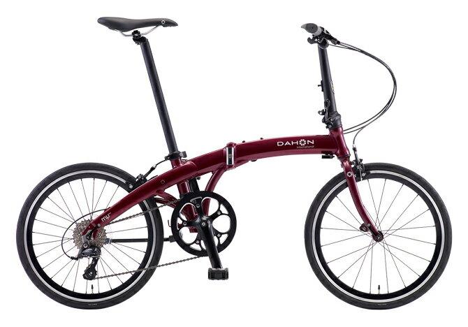 【送料無料】DAHON ダホン Mu SP9 ミュー バーガンディ 20インチ 折りたたみ自転車 2018年モデル【自転車本体】