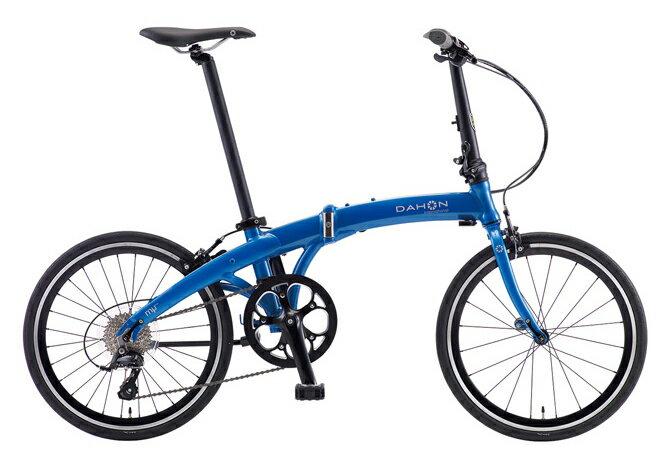 【送料無料】DAHON ダホン Mu SP9 ミュー メタリックブルー 20インチ 折りたたみ自転車 2018年モデル【自転車本体】