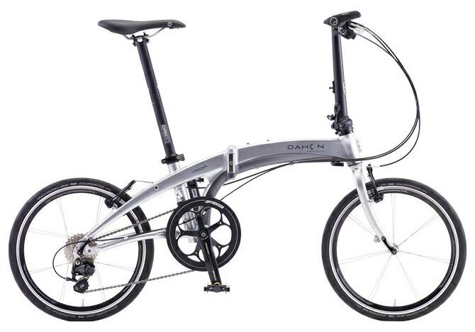 【送料無料】DAHON ダホン Vigor D11 ビガー クロム 20インチ 折りたたみ自転車 2018年モデル【自転車本体】