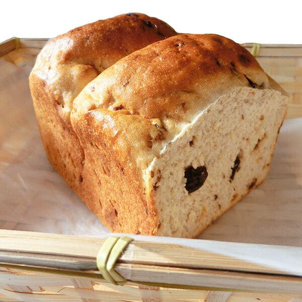 しっとりもちもち Bread-K 富山県産コシヒカリ80%使用 米粉パン レーズン食パン2斤×2個 【同梱包不可】【有機栽培米使用】