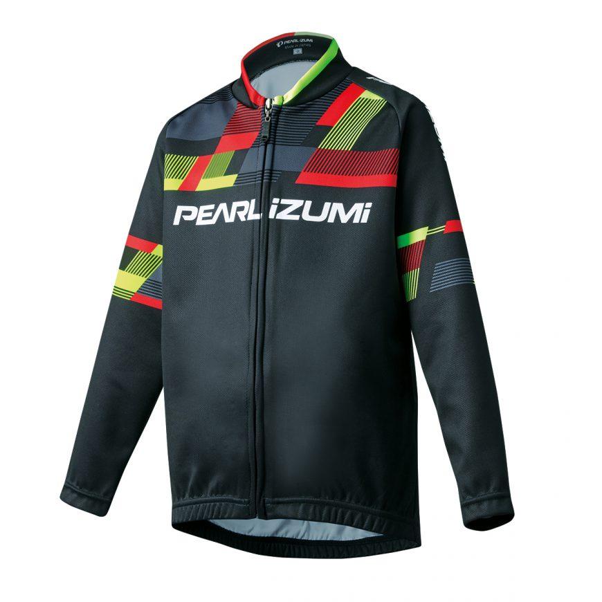 PEARL IZUMI パールイズミ キッズ プリント ジャージ 120cmサイズ パールイズミレッド K1460-BL-5-120cm 自転車用品 サイクルウェア