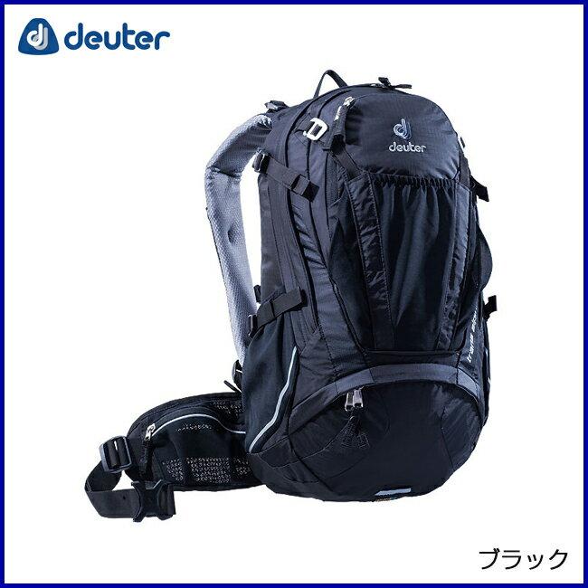 deuter ドイター トランスアルパイン24 ブラック リュックサック バックパック 登山 アウトドア 自転車 MTB