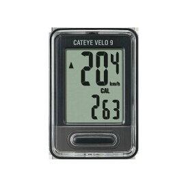 CATEYE/キャットアイ CC-VL820 VELO 9 ブラック(44443-F104) CATEYE サイクルコンピュータ 有線式