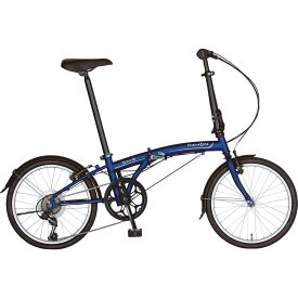 DAHON/ダホン SUV D6 エスユーヴィー D6 マットネイビー(9030) 折りたたみ自転車 自転車本体