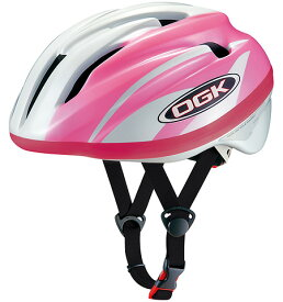 OGK KABUTO J-CULES2/ジェイ・クレス2 パールホワイトピンク 54〜56cm(55013-T428) 幼児用ヘルメット サイクルアクセサリー