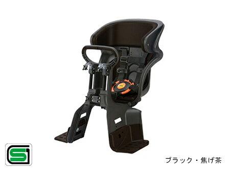 OGK/オージーケー技研 フロントチャイルドシート FBC-011DX3 ブラック/こげ茶(63845-O103) 1〜4才未満用 自転車前用子供乗せ