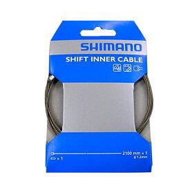 SHIMANO/シマノ SUS シフトインナーケーブル ステンレス φ1.2mm×2100mm Y60098911 ロード/MTB用 自転車