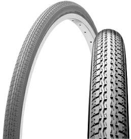SHINKO シンコー 車椅子タイヤ 18×1 3/8 W/O タイヤ+チューブセット グレー SR120 車いす 自転車 タイヤ 18インチ