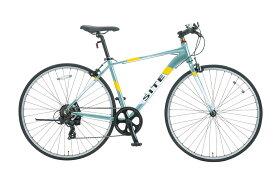 SHIONO/塩野自転車 700XZ-G97 SITE AL/サイトAL 700C クロスバイク ミントグリーン(7805) アルミスポーツバイク 自転車本体