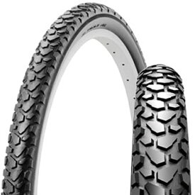 SHINKO シンコー SR046 ブロックタイヤ 24×1.75 H/E ブラック 自転車 タイヤ 24インチ