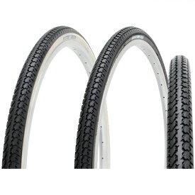 SHINKO シンコー DEMING L/T 24×1 3/8 W/O ブラック/ホワイト SR199 自転車 耐摩耗タイヤ 24インチ