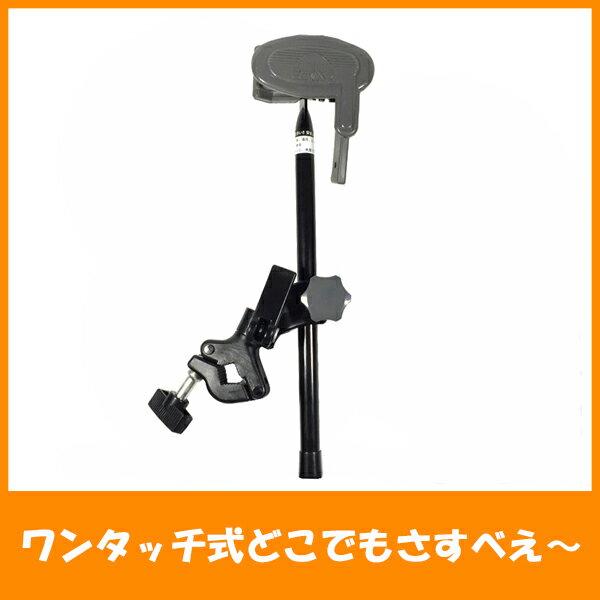 ユナイト 傘スタンド ワンタッチ式どこでもさすべえ〜 グレー 自転車用品 傘立て