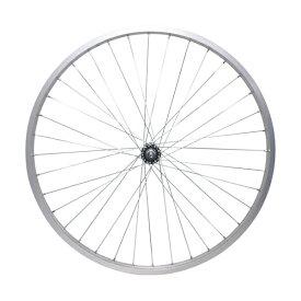 敷島 前輪 26 × 1 3/8 ホイール アルミリム 26インチ フロント 車輪 自転車
