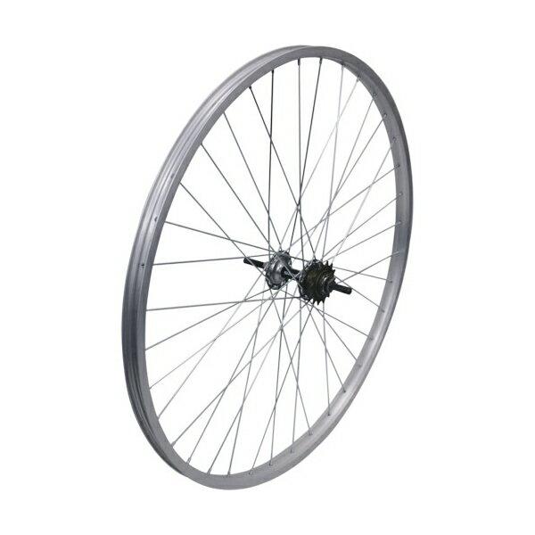敷島 後輪 24 × 1 3/8 ローラーブレーキ アルミリム 24インチ ホイール 車輪 自転車