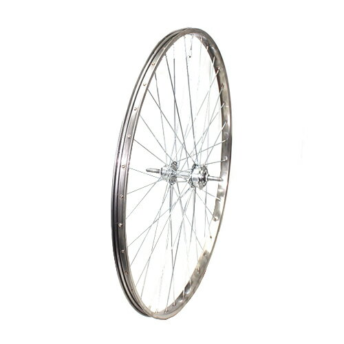敷島 後輪 24 × 1 3/8 ドラムブレーキ ステンレスリム 24インチ ホイール 車輪 自転車