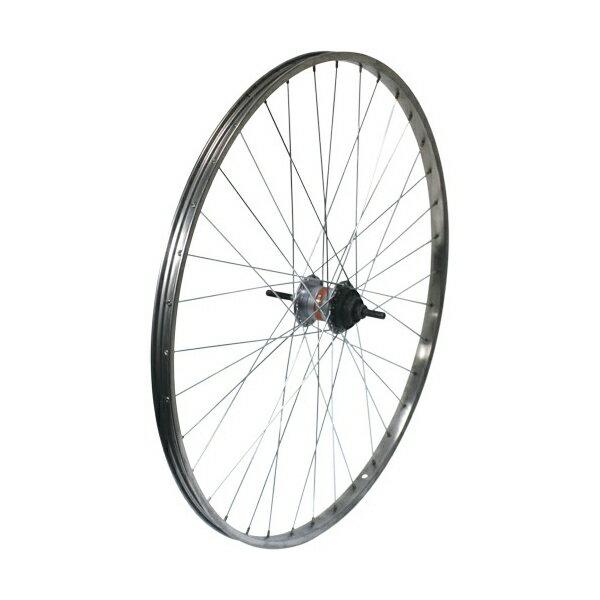敷島 後輪 24 × 1 3/8 内装3段 ローラーブレーキ ステンレスリム 24インチ ホイール 車輪 自転車