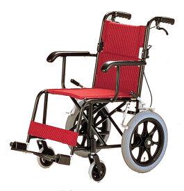 軽量 折りたたみ車椅子(車いす) 日進医療器製 TH-2SB(台湾製 OEM)【メーカー正規保証付き/条件付き送料無料】