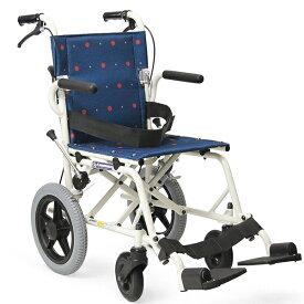 軽量 折りたたみ 旅行用車椅子(車いす)カワムラサイクル製 KA6【メーカー正規保証付き/条件付き送料無料】