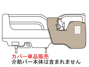 パラマウントベッド製|ソフトカバー単品(スイングアーム介助バー専用)(KS-98CL)