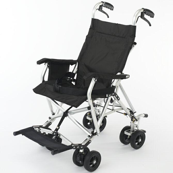 軽量 折りたたみ 旅行用車椅子(車いす)Y&A製 ジョイ(joy) 【メーカー正規保証付き/送料無料】