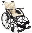 軽量 折りたたみ車椅子(車いす) カワムラサイクル製 WAVIT22! WA22-40S(42S)/WA22-40A(42A)【メーカー正規保証付き/条件付き送...