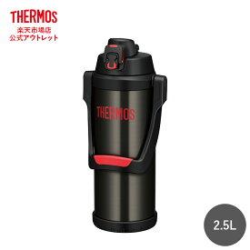サーモス 水筒 真空断熱スポーツジャグ 2.5L FFV-2500 BKR ブラックレッド 保冷専用