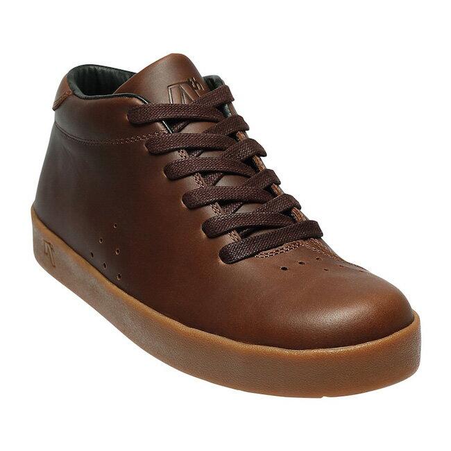 送料無料AREth (アース) メンズ 靴 スニーカー II (ツー) / BROWN LEATHER / ブラウンレザーBMX/スケートシューズ/KAMI/ストリート/SKATE/スケボー/UNISEXI/ユニセックス