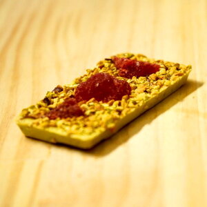ピスタチオチョコレート「ピスタチオチョコといちごと、あとピスタチオと。」プチギフトにおすすめ。ピスタチオ、いちご、贅沢にたっぷりピスタチオを使用、コクのある味わい プレゼ