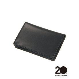 革小物/キーリング/グッズ/メンズ/20周年記念アイテム/カードケース/Leather by MASTROTTO/ ブラック/ザ・スーツカンパニー