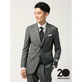 【スーパーSALE】ビジネススーツ/メンズ/通年/20周年記念アイテム/FIT/YC-02/2つボタンスーツ ハウンドトゥース ミディアムグレー/ザ・スーツカンパニー