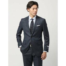 【スーパーSALE】ビジネススーツ/メンズ/通年/20周年記念アイテム/FIT 2つボタンスーツ シャークスキン CH-14 ブルー×ネイビー/ザ・スーツカンパニー
