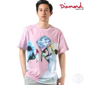 メンズ 半袖 Tシャツ Diamond Supply Co. ダイヤモンド サプライ A19DMTF003 DESI DIAMANT PERROQUET T GG1 D12