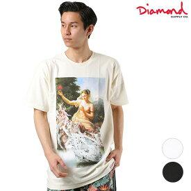 送料無料 メンズ 半袖 Tシャツ Diamond Supply Co. ダイヤモンド サプライ DESI DESIRE TEE A19DMPA018 GG1 D17