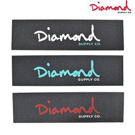 デッキテープ スケートボード Diamond Supply Co. ダイヤモンド サプライ GRIP TAPE OG SCRIPT Z00DMSB02 FF D16