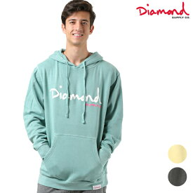 送料無料 メンズ パーカー Diamond Supply Co. ダイヤモンド サプライ OG SCRIPT PIGMENT C18DMPF030 FF3 K6