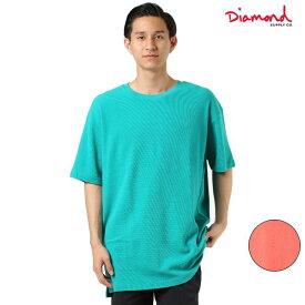 メンズ 半袖 Tシャツ Diamond Supply Co. ダイヤモンド サプライ A19DMTF001 MUJI BRILLIANT OVERSIZED GG2 F25