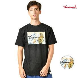 メンズ 半袖 Tシャツ Diamond Supply Co. ダイヤモンド サプライ D18DMPA302S TIGER WAVE TEE S/S GG3 I2