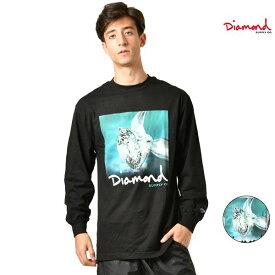 メンズ 長袖 Tシャツ Diamond Supply Co. ダイヤモンド サプライ C19DMPC001 DESI SHIMMER L/S TEE ムラサキスポーツ限定 GG3 I2
