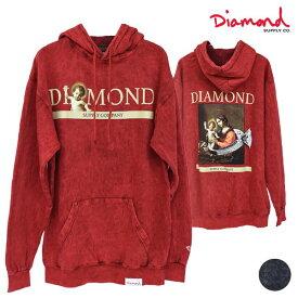 メンズ パーカー Diamond Supply Co. ダイヤモンド サプライ D19DMP0003 13TH CENTURY HOODY MINERAL WASH GG4 L6