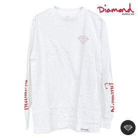 メンズ 長袖 Tシャツ Diamond Supply Co. ダイヤモンド サプライ D19DMPC013 DOUBLE READ LS TEE GG4 L6